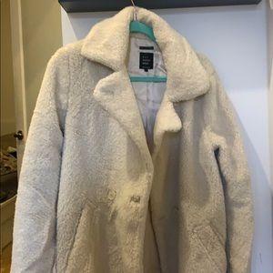 Ivory reddy pea coat
